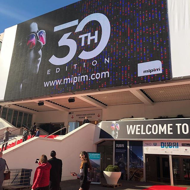 Really stoked to be at #mipim for the 30th anniversary of this incredible conference. Getting the opportunity to meet and engage with real estate leaders from around the world. Also, there are worse places to hangout than Cannes :) #mipim2019