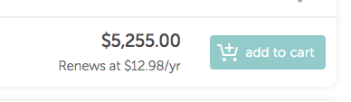 Obviously I can't afford it at this price.