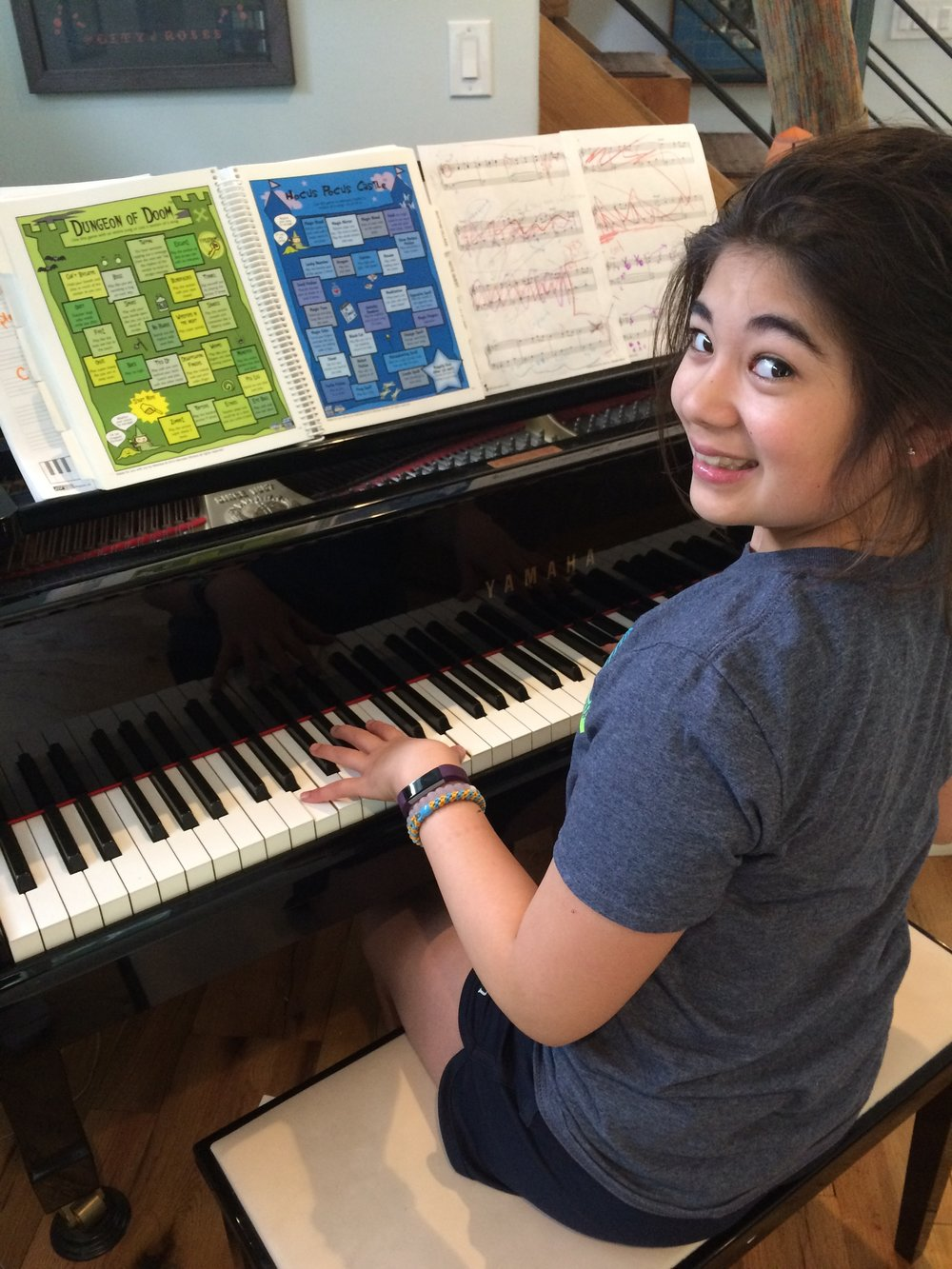 piano lessons Broomall pa in home main line