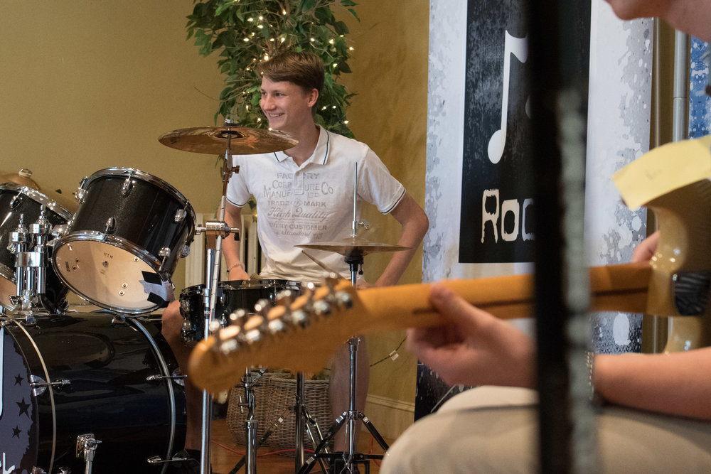 guitar bass drum lessons Newtown Square pa
