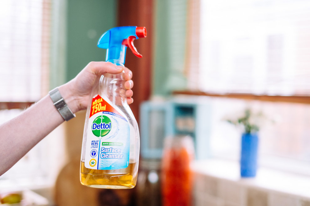 Compost the peels and pour the infused vinegar into a spray bottle.