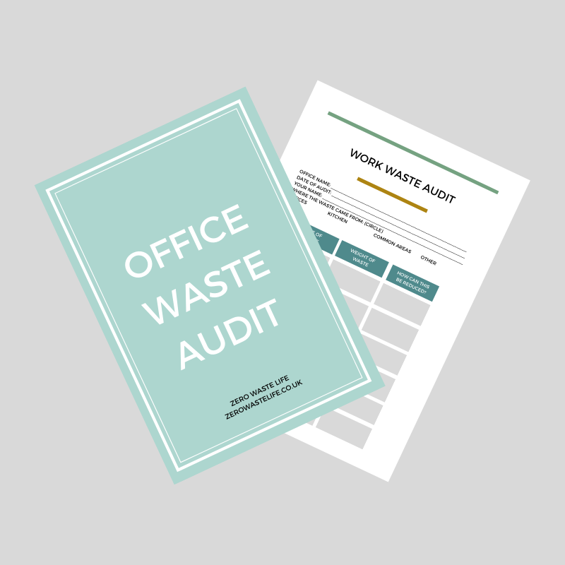 A Zero Waste Life. OFFICE AUIDIT