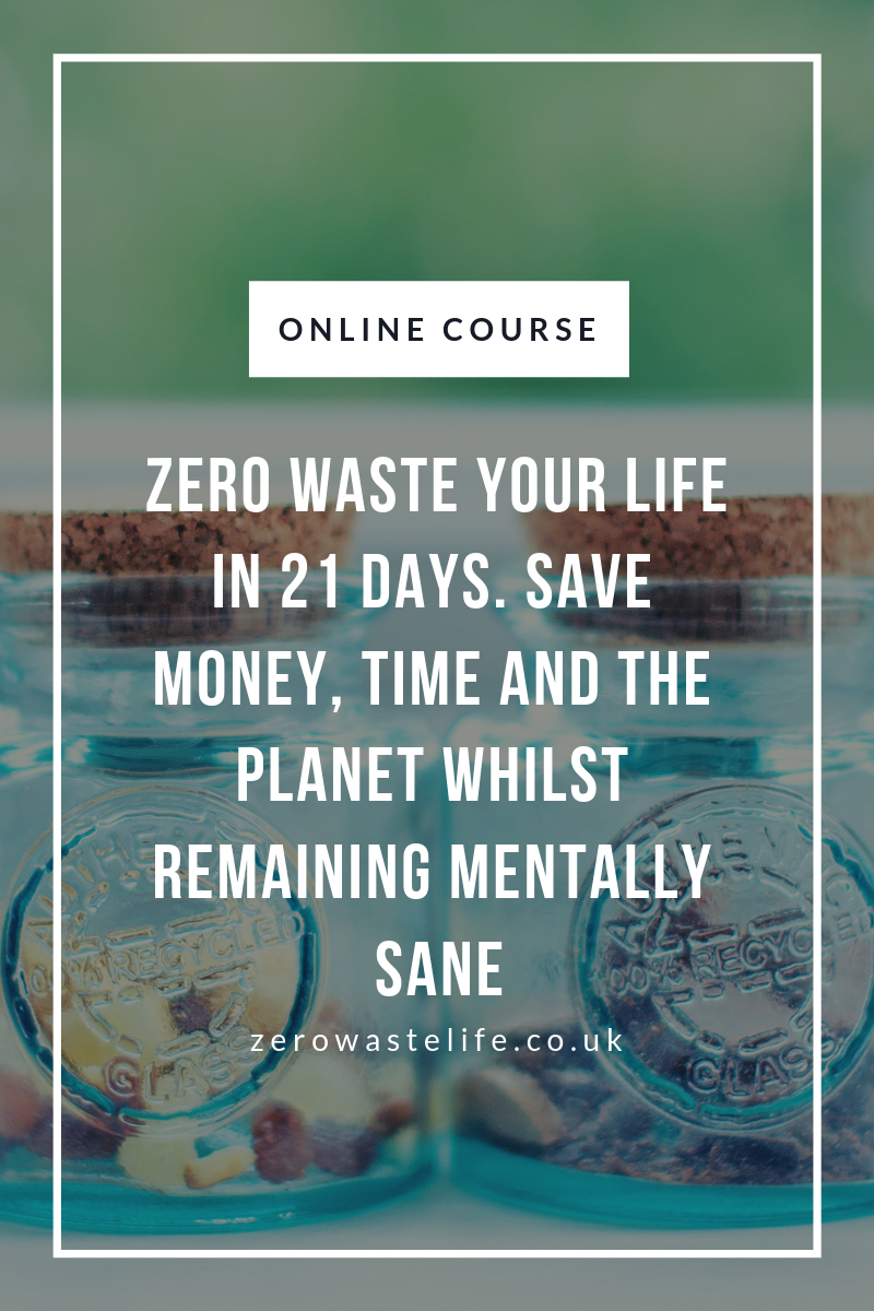 A Zero Waste Life. Online Course