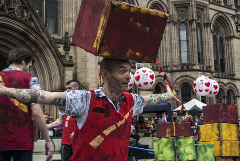 Box Balancing for Manchester Day