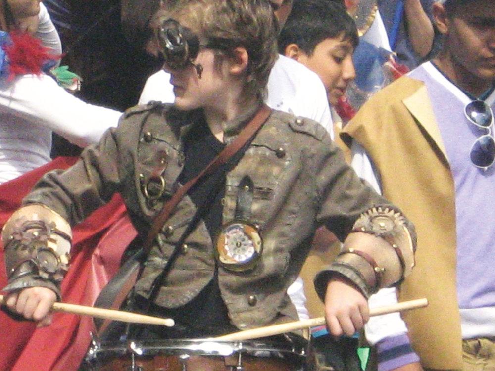 Steampunk Drummer