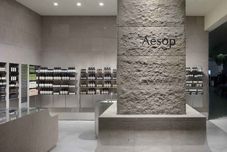 Aesop stores