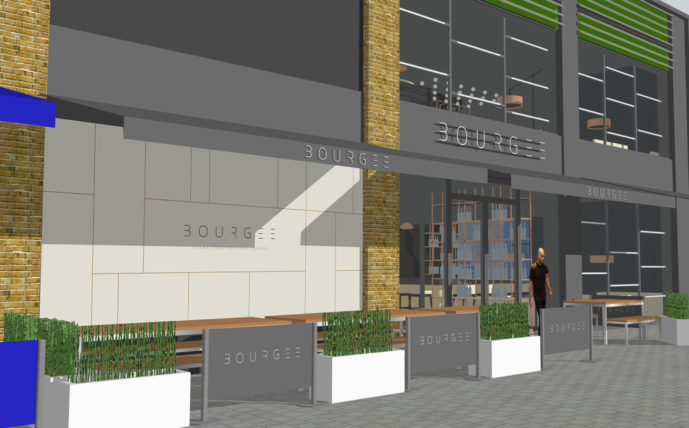 Bourgee Chelmsford interior rendering