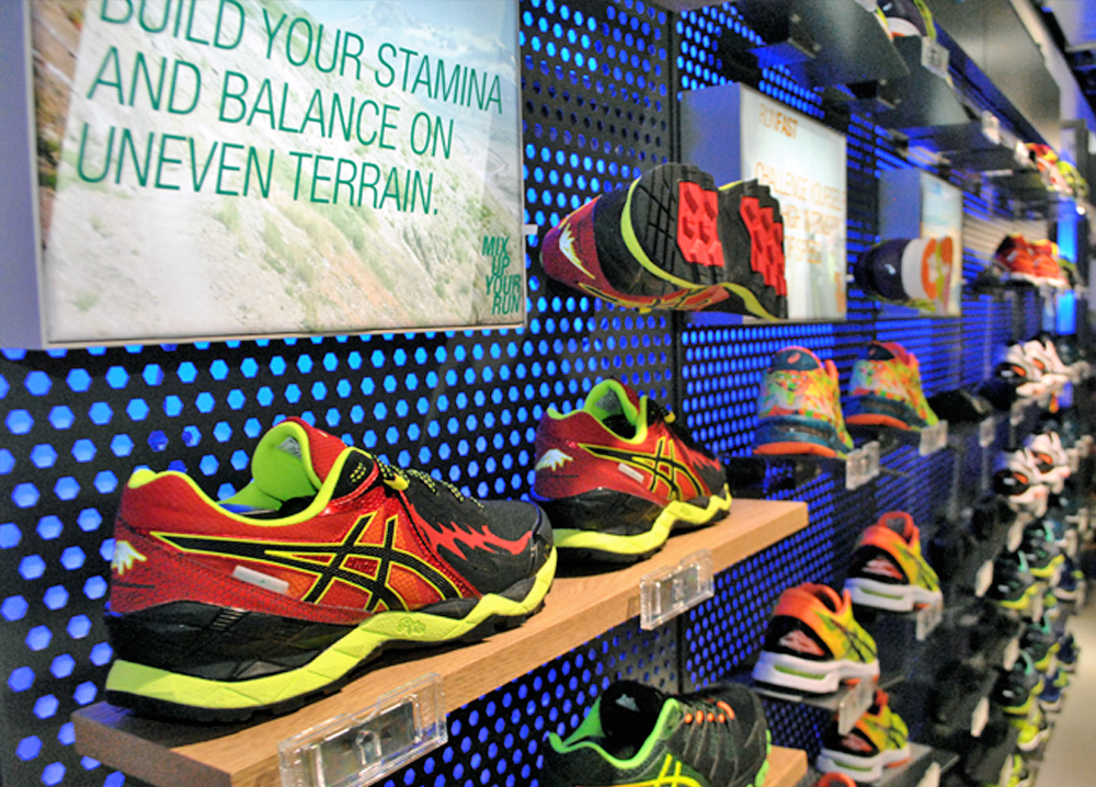 Asics shop in shop