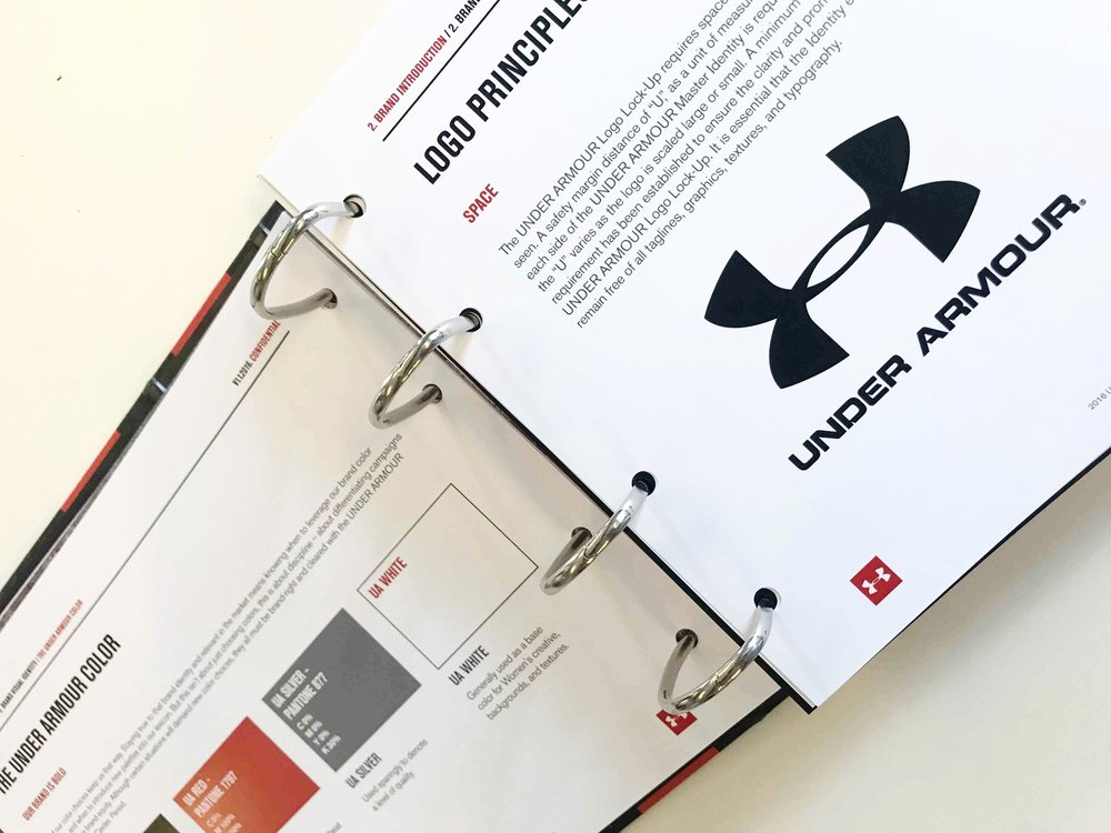 Under Armour brand guidelines