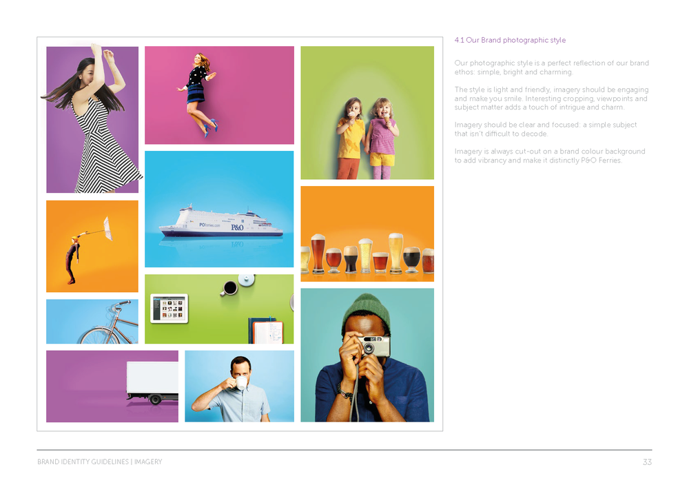 P&O Ferries brand guidelines