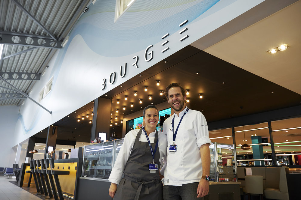 Bourgee Bites, London Southend Airport
