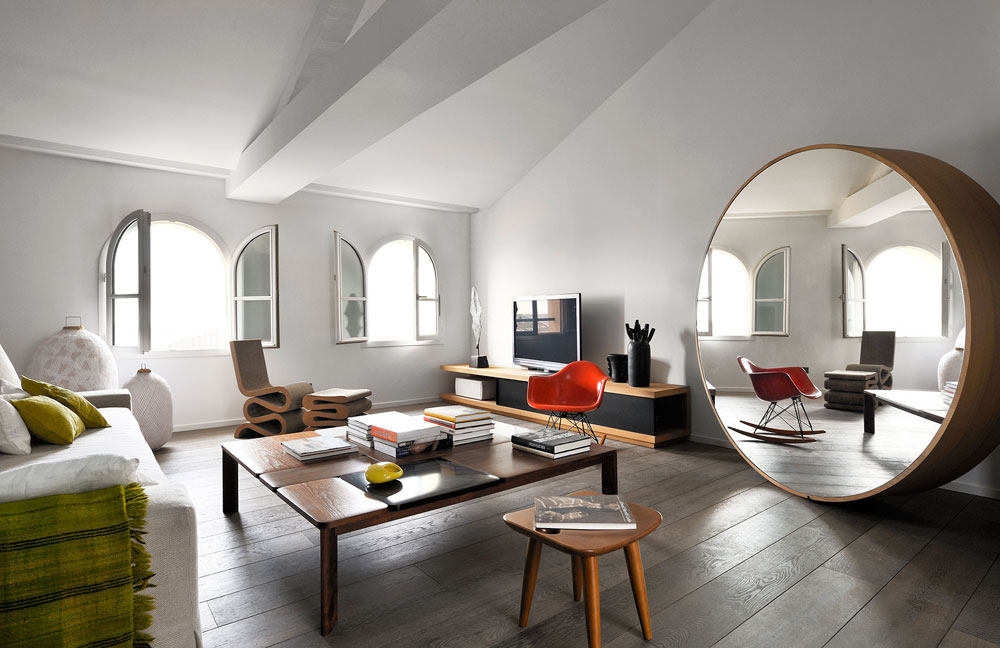 An example of Feng Shui put into practice for domestic interior design