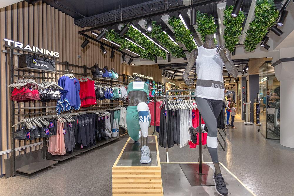 ASICS flagship retail sydney