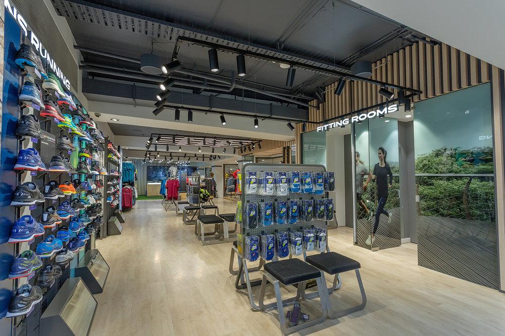 sports retail design manchester