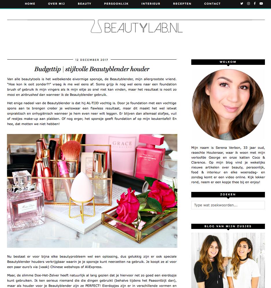 Beautylab NL Dec 2017