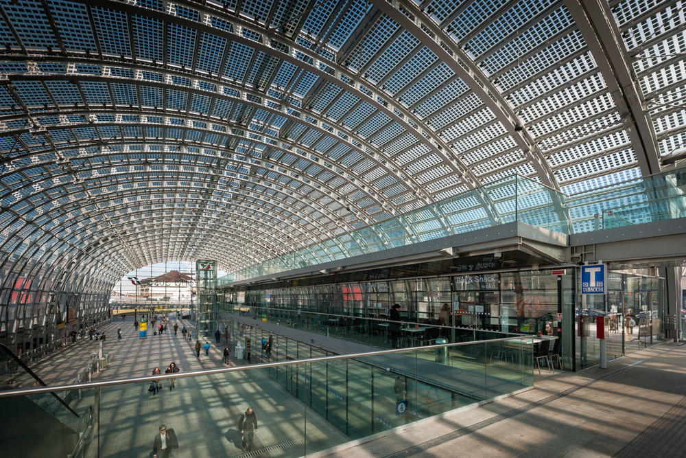 TORINO PORTA SUSA - THE MOST HIGH TECHNOLOGICAL TRAIN STATION OF EUROPE