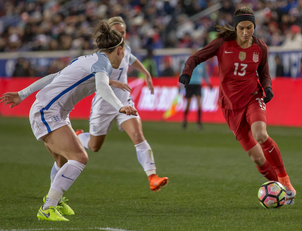 USWNT vs. England - March 4, 2017
