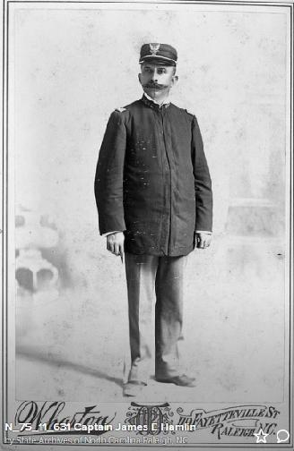 Captain James E. Hamlin