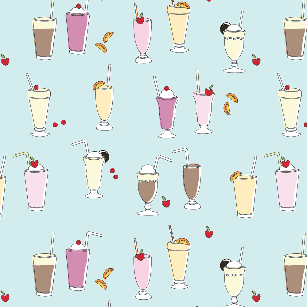 Sweet Chill - Dessert, guys. It's a pattern stack of ice cream-themed designs and colors. Style and sweet taste.