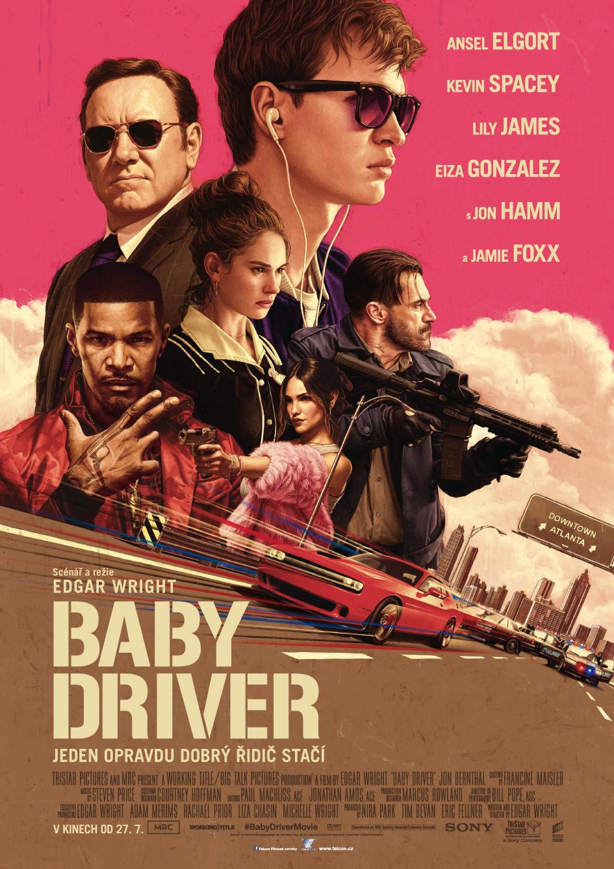 BABY DRIVER - Když už jsme zmiňovaly ten filmový festival, nemohly jsme si na kolonádě nevšimnout růžového plakátu poutající na film Baby driver od Falconu. Nestihly jsme ho ve Varech, ale oficiálně se bude promítat v kinech premiéra už tenhle čtvrtek 27. 07. 2017Zatím má na ČSFD hodnocení 76%, což je celkem hezký číslo! Uvidíme po premiéře.Co už můžeme říct předem, že to vypadá to na svižnou a vtipnou stylovku s perfektním soundtrackem a hlavně k tomu máme ještě dvě slova: JAMIE FOXX! <3