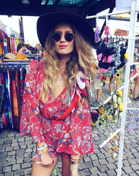 playsuit/ Answear , sunglasses/ Opticlab , hat/ Tonak