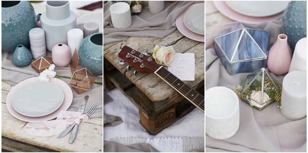 Popisky na pozvánkách, kytaře a nádobí nazdobila úžasná a talentovanáKRASOPISKA