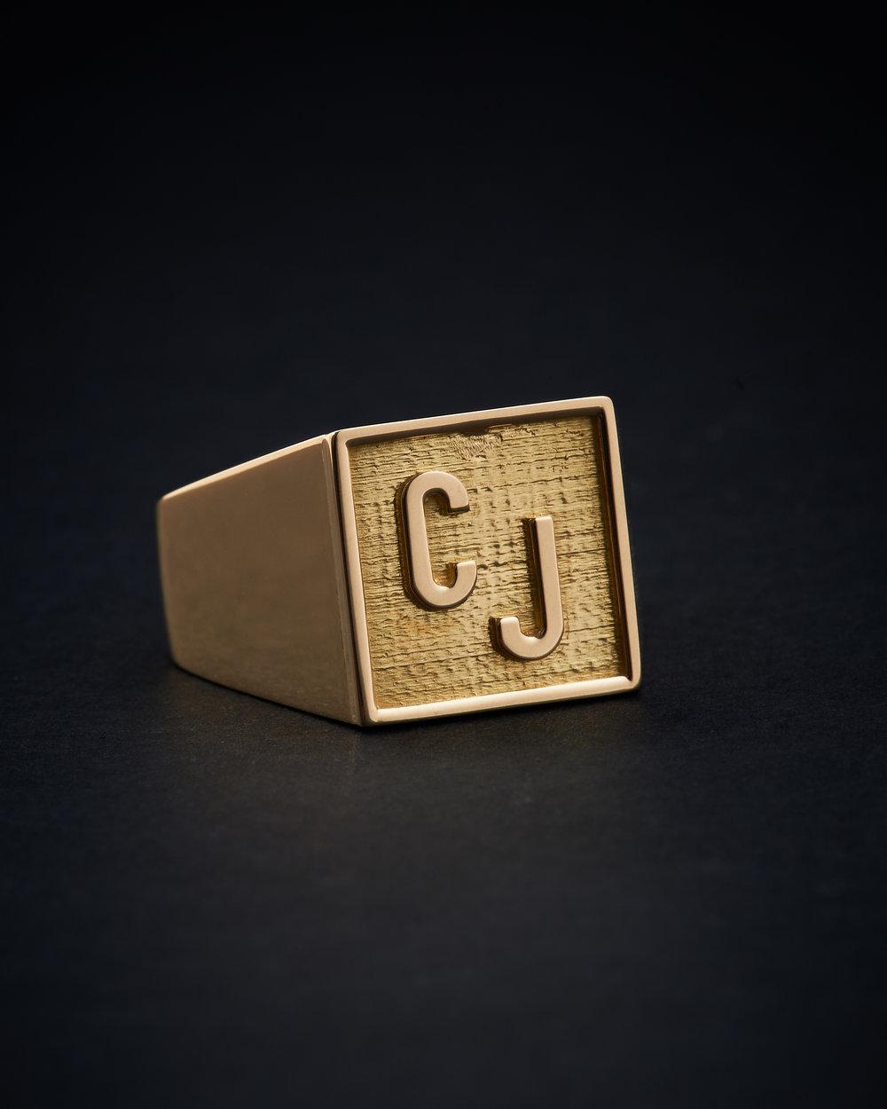 CHARLOTTE J // GOLD 18k