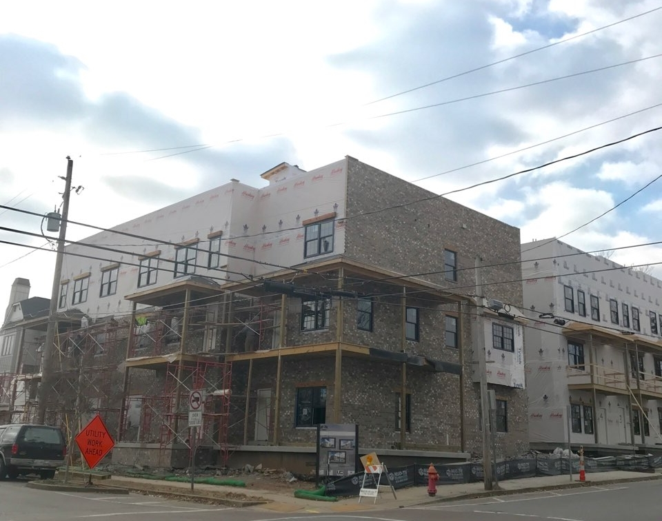 Christmas Came Early! - Brick is up on the buildings!