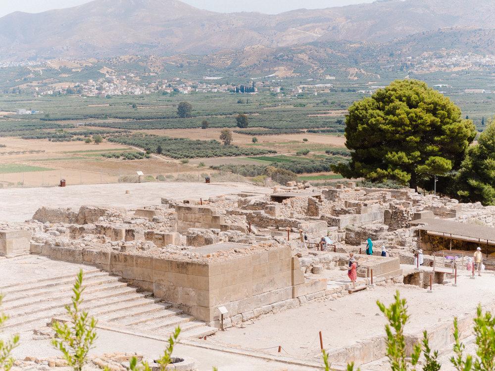 Faistos Archaeological Site