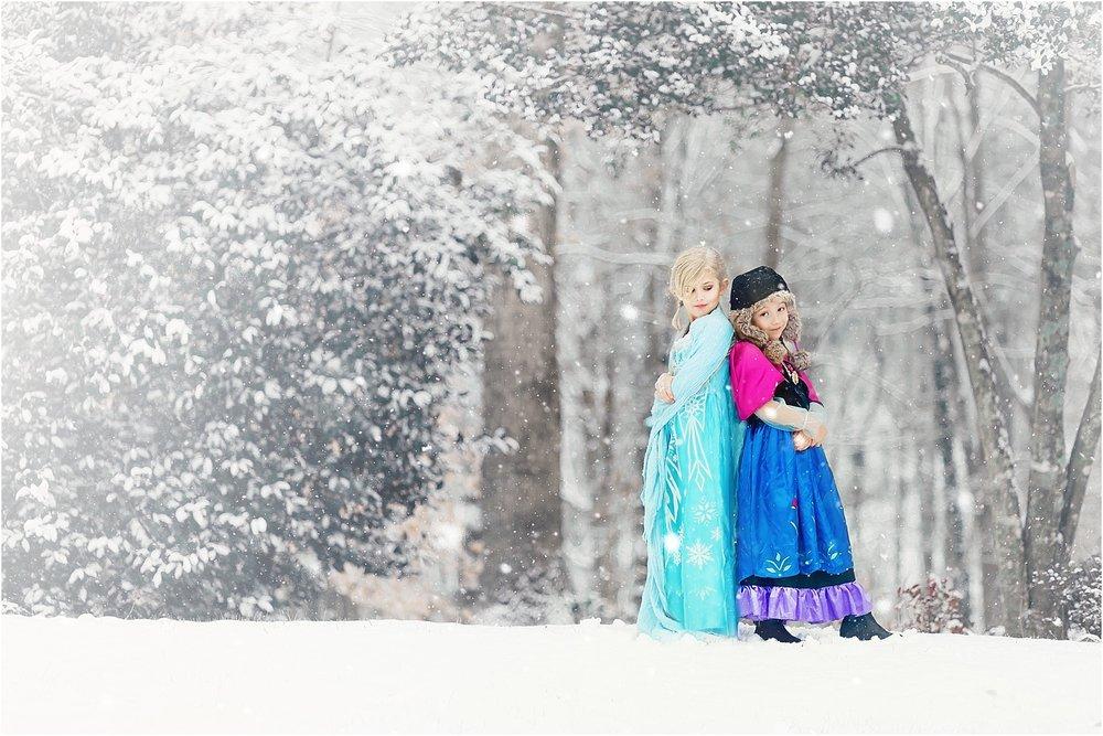 Fantasy Elsa & Anna Shoot - 2016