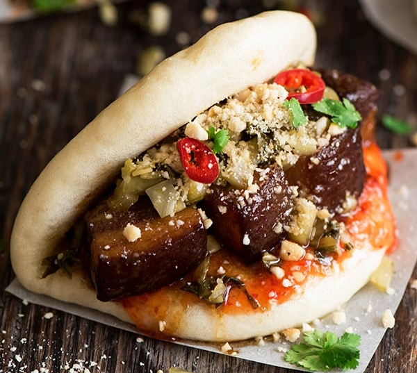 Steamed Buns  - Monday June 12thChicken Tacos, Fish Tacos, Black Coco Beans, Mexican Style Rice, Charred Tomato Salsa, Pineapple Salsa, ChurrosCooking Class: 3pm -5pm  $20<Click Here To Register>Community Dinner 5pm - 7pm  Steamed Buns $12