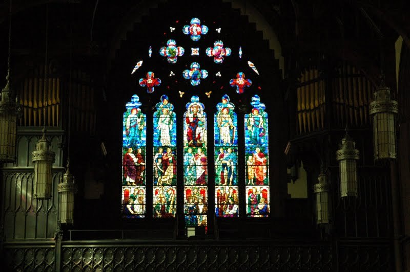 The West Window: Christ the King