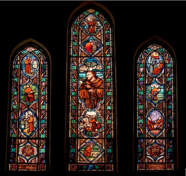 Francis windows at All Souls Washington DC.JPG