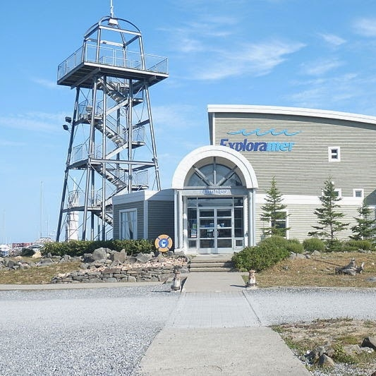 EXPLORAMER   Musée sur le milieu marin du St-Laurent, activités de vulgarisation scientifique, excursions en mer, cueillette de poissons