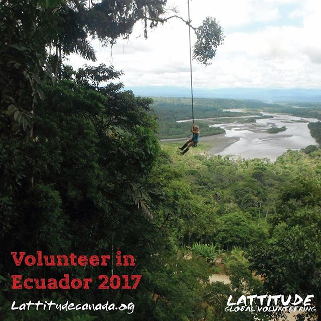 Pining for warmer weather? We're accepting applications for our Ecuador program! Link in bio.  #wanderlustwednesday #travel #volunteerabroad #gapyear #gapyearlife #collegecanwait #worldtravel #travelling #abroad #ecuador #wanderlust #explorer #exploretheworld #exploring