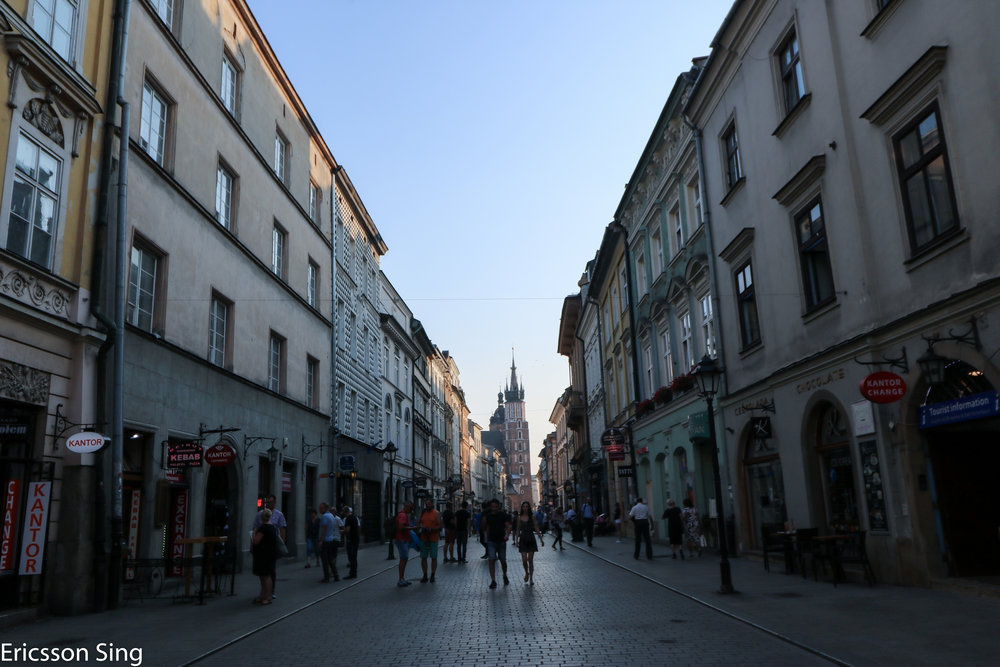 Entering Krakow.jpg