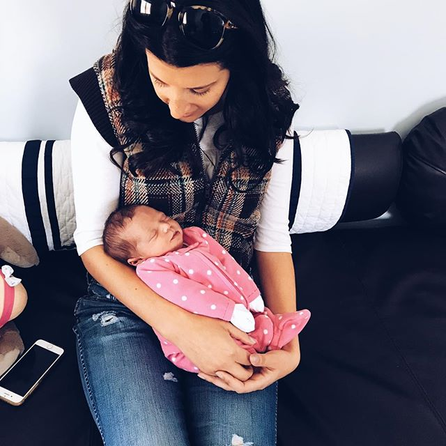 Auntie x4 💞💞 #babylilah #preciousgirl