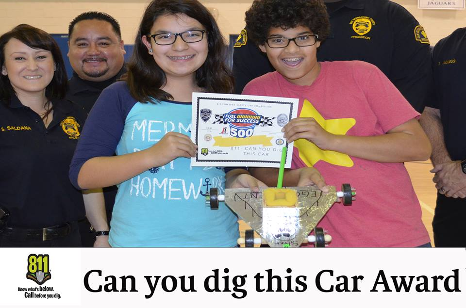 Air Powered Model Car Competition Winners- California