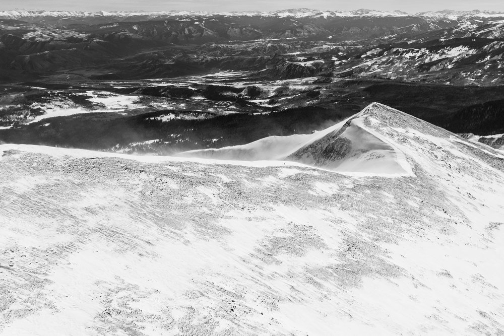 Skinning, Mt. Sopris #4