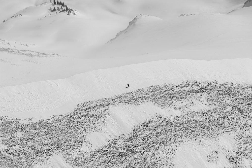 Skinning, Mt. Sopris #1