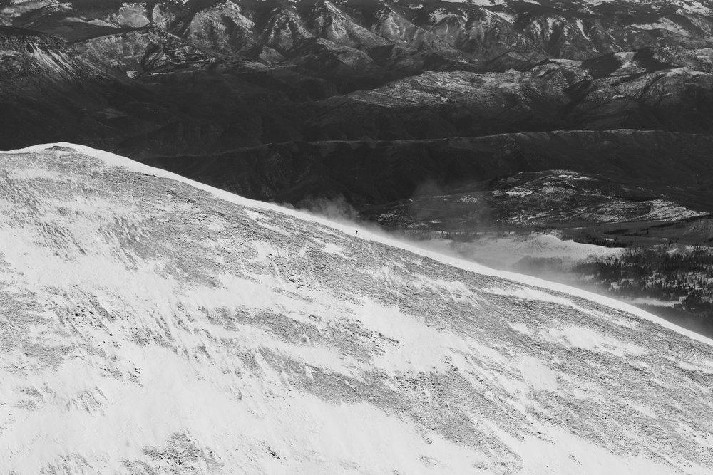 Skinning, Mt. Sopris #2