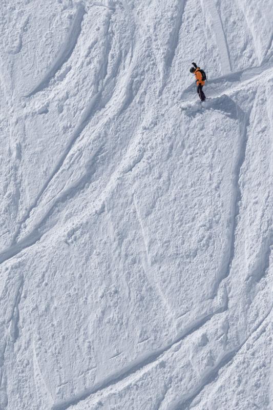 Lone Skier #3