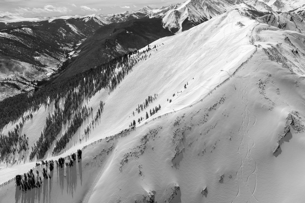 THE LINE, HIGHLANDS BOWL (B&W) #5