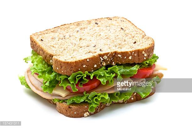-  Bread Options: Multi Grain or White (From Wheat Montana); Gluten Free, Spinach Or Lettuce WrapMeat: Turkey, Ham, Roast BeefCheese: Provolone, Cheddar, SwissChipsCookieSides