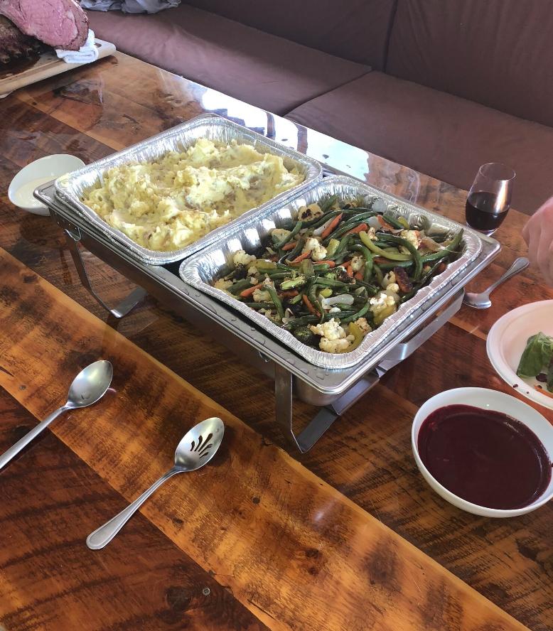 Casual Indoor Buffet
