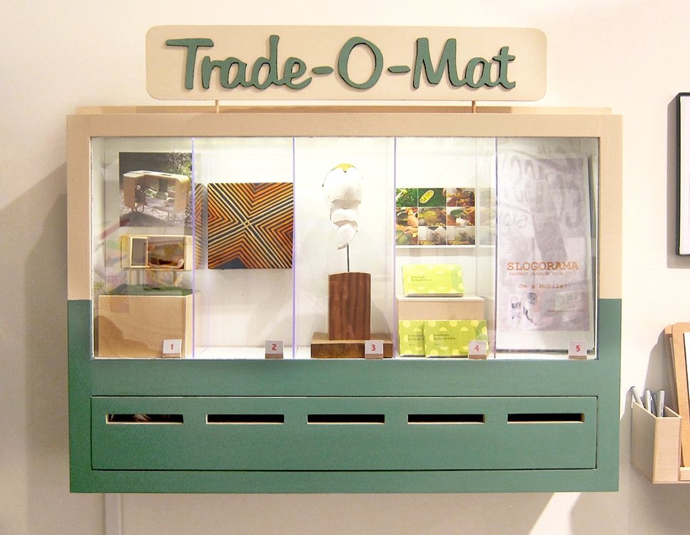 Trade-O-Mat art vending machine