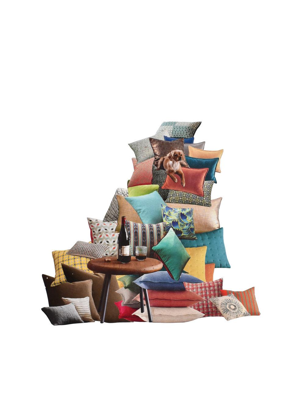 """Cushion 11"""" x 14""""  2015"""