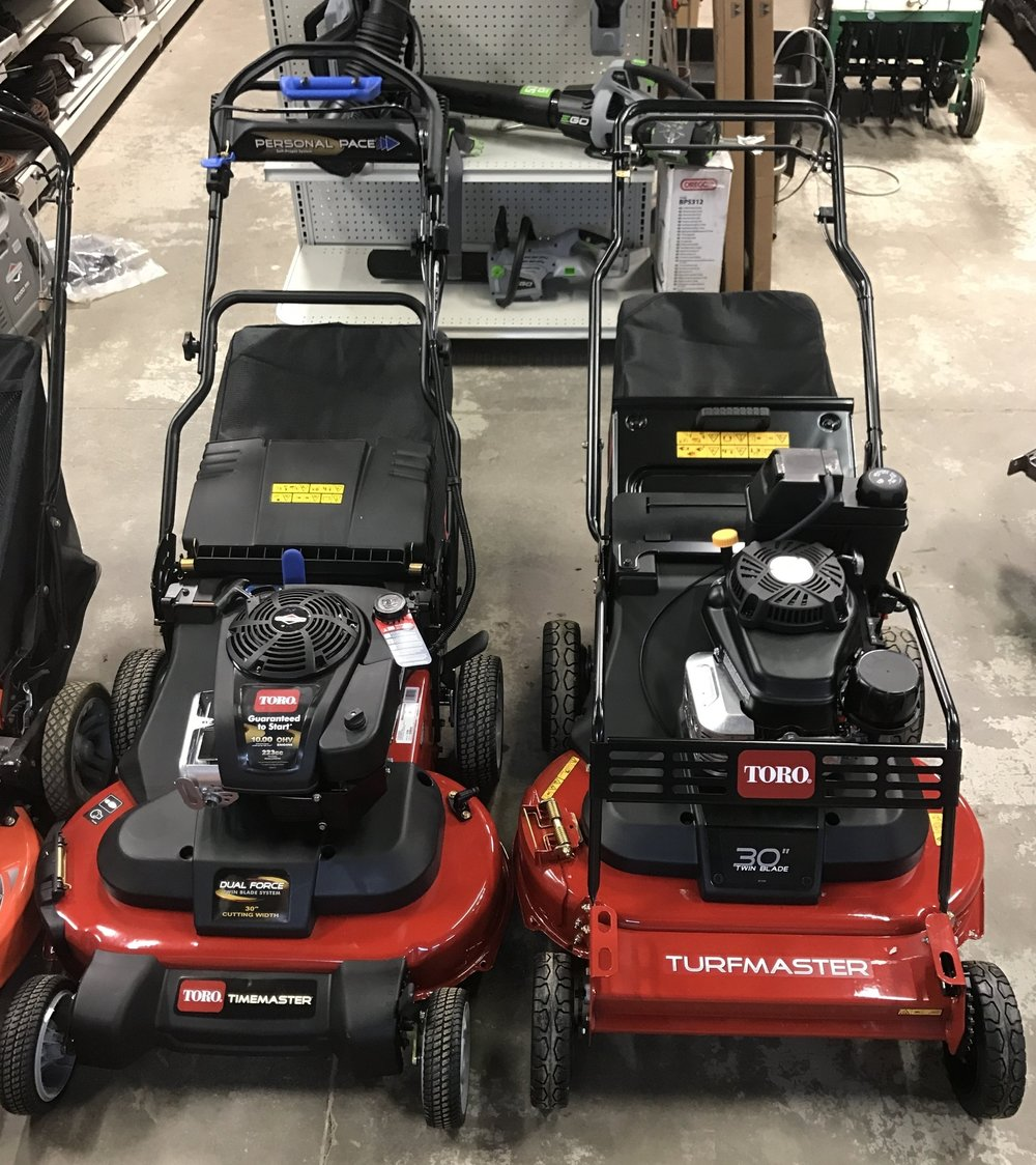 """Toro TimeMaster & TurfMaster 30"""" walks offer a time advantage, commercial touch to any job."""