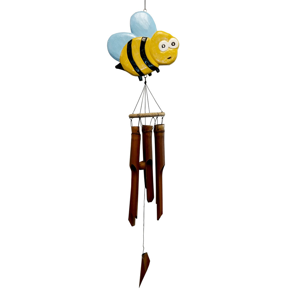 234 - Bee-trice Bee Bamboo Wind Chime