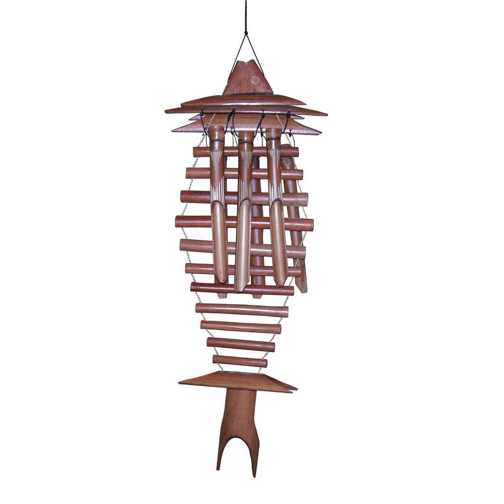 102L - Lovina Bamboo Wind Chime